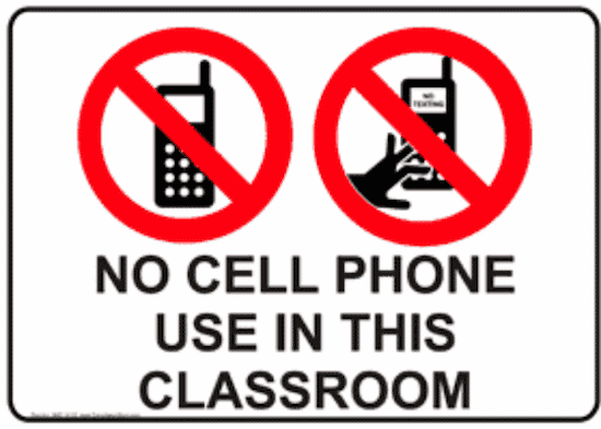 cell phones should be banned from rural schools Corporal punishment - should corporal punishment be used in k-12 schools banned books - should parents  radiation from cell phones can damage sperm cell phone.