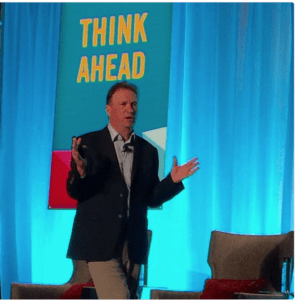 On stage in Dallas this week, opening EdNet 2016